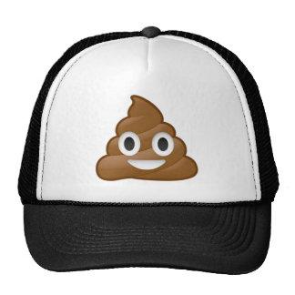 Poop emoji trucker hat