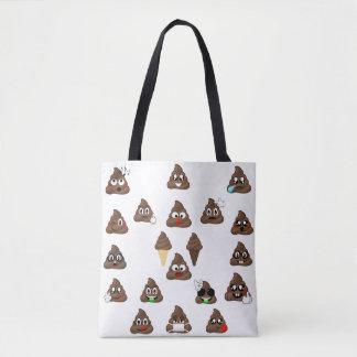Poop Emojis Galore Tote Bag