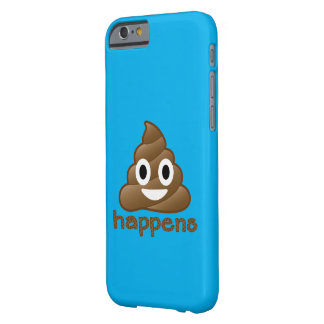 Poop Happens Emoji Barely There iPhone 6 Case