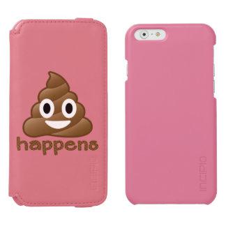 Poop Happens Emoji Incipio Watson™ iPhone 6 Wallet Case