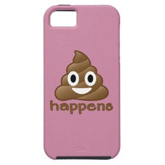 Poop Happens Emoji iPhone 5 Case