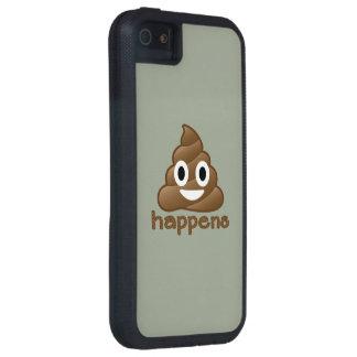 Poop Happens Emoji iPhone 5 Covers