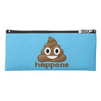 Poop Happens Emoji Pencil Case