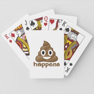 Poop Happens Emoji Playing Cards