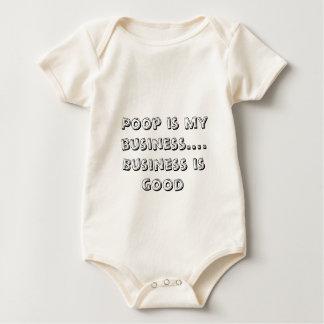 Poop is my business....Business is good Baby Bodysuit