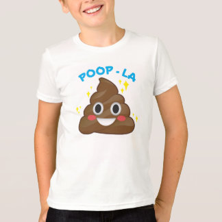 Poop - La Happy Poo Emoji T-Shirt