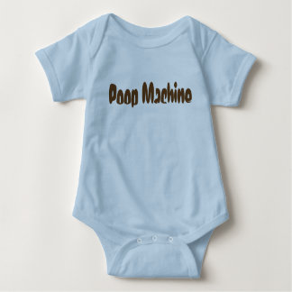 Poop Machine Baby One Piece Baby Bodysuit