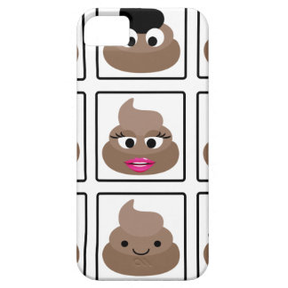 Poop Many Faces Case For The iPhone 5