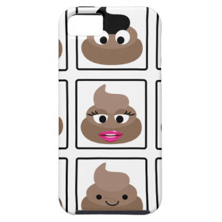 Poop Many Faces iPhone 5 Case
