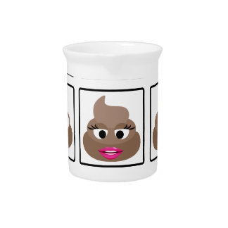 Poop Many Faces Pitcher