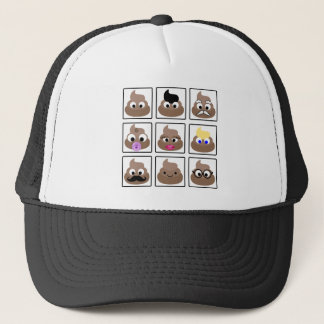 Poop Many Faces Trucker Hat