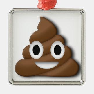 Poop ! metal ornament