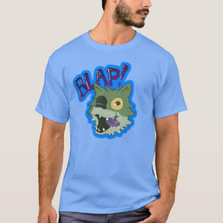 Poop the Zombie Wolf Pup - BLAP! T-Shirt