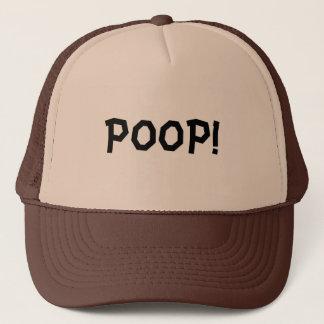 POOP! TRUCKER HAT