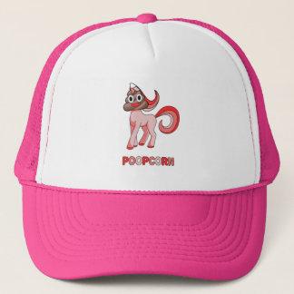 Poopcorn Funny Unicorn With Poop Head Funny Trucker Hat