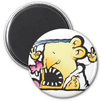 Poopie Head 2 Inch Round Magnet