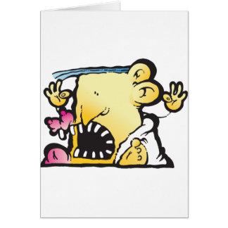 Poopie Head Greeting Card