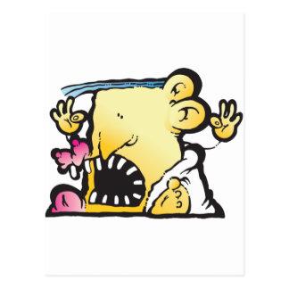 Poopie Head Postcard