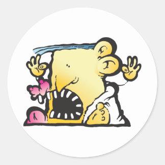 Poopie Head Stickers