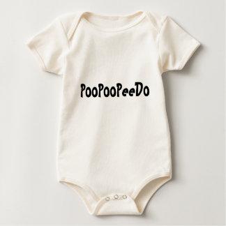 PooPooPeeDo Baby Bodysuit