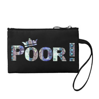 'Poor' double sided coin purse