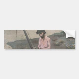 Poor Fisherman by Pierre Puvis de Chavannes Bumper Sticker