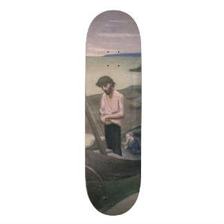 Poor Fisherman by Pierre Puvis de Chavannes Skateboards