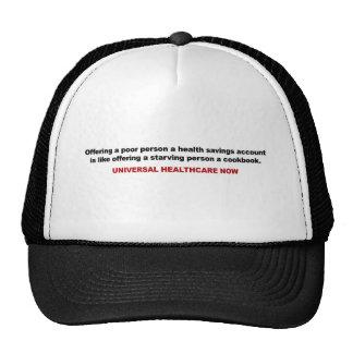 Poor, Health Savings Account, Universal Healthcare Trucker Hat
