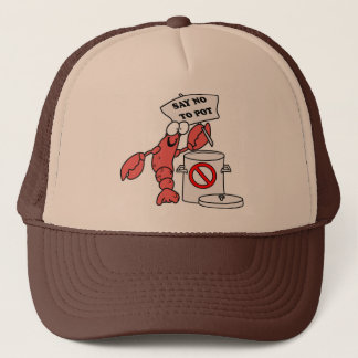 Poor Lobster Trucker Hat