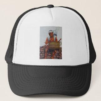 Poor native trucker hat