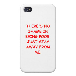 POOR.png iPhone 4/4S Cases