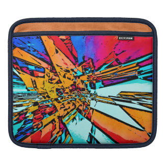 Pop Art Abstract iPad Sleeve