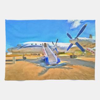 Pop Art Airliner Kitchen Towel
