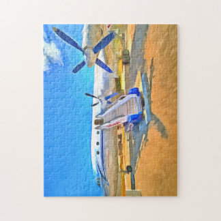 Pop Art Airliner Puzzles