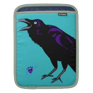 Pop art animal designs iPad sleeves