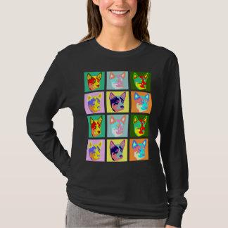 Pop Art Australian Cattle Dog T-Shirt