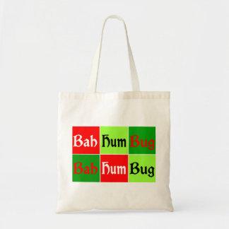 Pop Art BAH HUMBUG! Tote Bag
