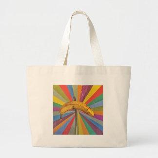 Pop Art Banana Tote Bag