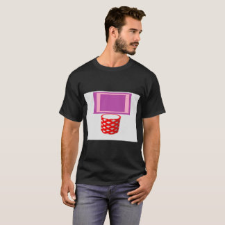pop art basketball hoop Men's Basic Dark T-Shirt