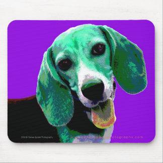 Pop ART Beagle Mouse Pad