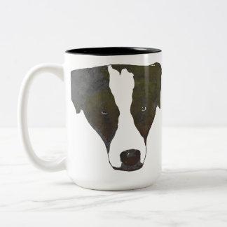Pop Art Border Collie Mug