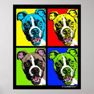 Pop Art Boxer Poster