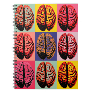 Pop Art Brain Notebook