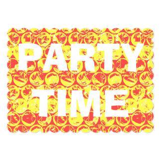 Pop art bubble wrap birthday party invitation
