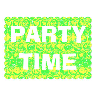 Pop art bubble wrap housewarming party invitation