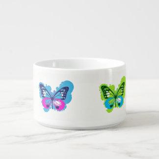 Pop Art Butterfly Bowl