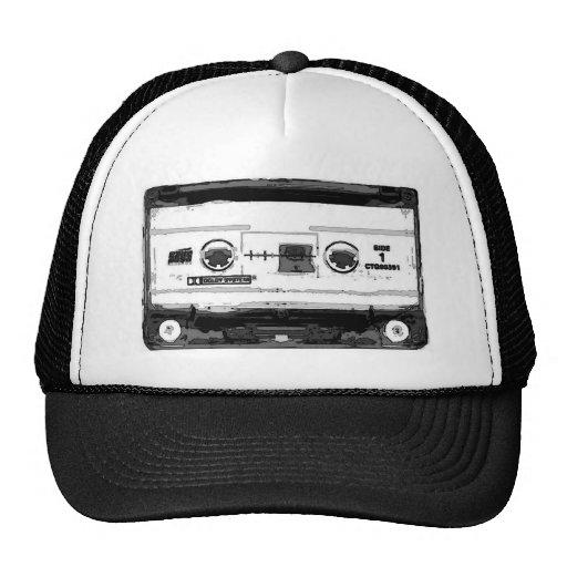 Pop Art Cassette Trucker Hats