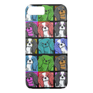 Pop Art Cavalier King Charles Spaniel iPhone 7 cas Case-Mate iPhone Case