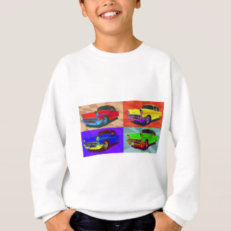 Pop art Chevy Belair illustration Sweatshirt