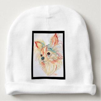 Pop Art Chihuahua by Carol Zeock Baby Beanie